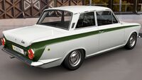FH3 Ford Cortina Rear