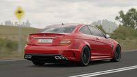 FH3 Mercedes C63AMG BlackSeries Rear