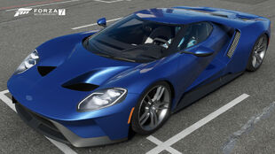 The 2017 Ford GT in Forza Motorsport 7