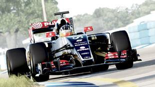 The Lotus E23 in Forza Motorsport 6
