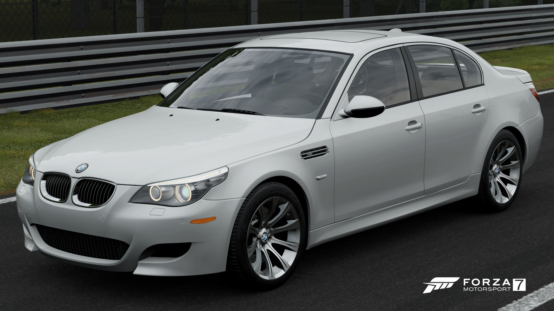The 2009 BMW M5 In Forza Motorsport 7