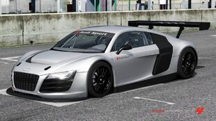 Audi R8 LMS Show Car in Forza Motorsport 4