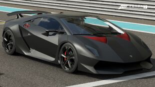 The 2011 Lamborghini Sesto Elemento in Forza Motorsport 7