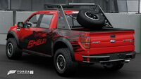 FM7 Ford Shelby Raptor Rear