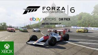 Forza Motorsport 6 eBay Motors Car Pack