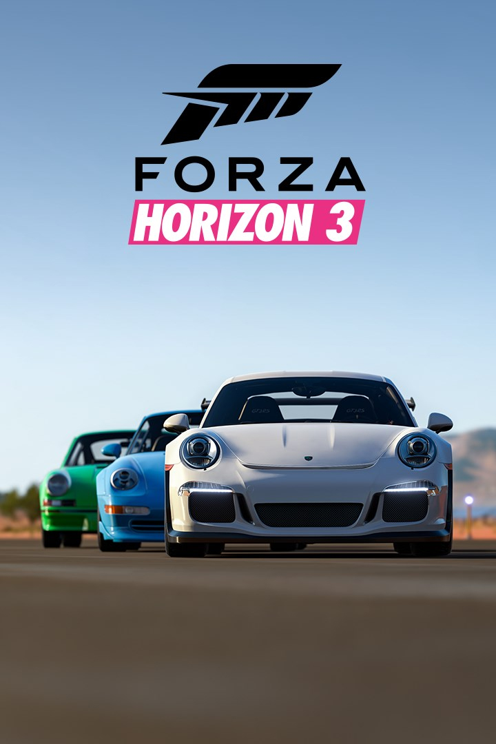 forza horizon 3 porsche car pack forza motorsport wiki. Black Bedroom Furniture Sets. Home Design Ideas