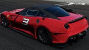 FM7 Ferrari 599XX Rear