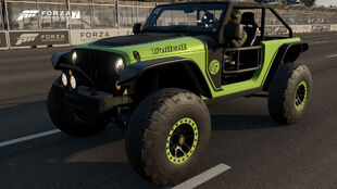 The 2016 Jeep Trailcat in Forza Motorsport 7