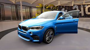 The BMW X6 M (F86) in Forza Horizon 3