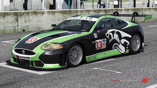 Jaguar #33 RSR XKR GT in Forza Motorsport 4
