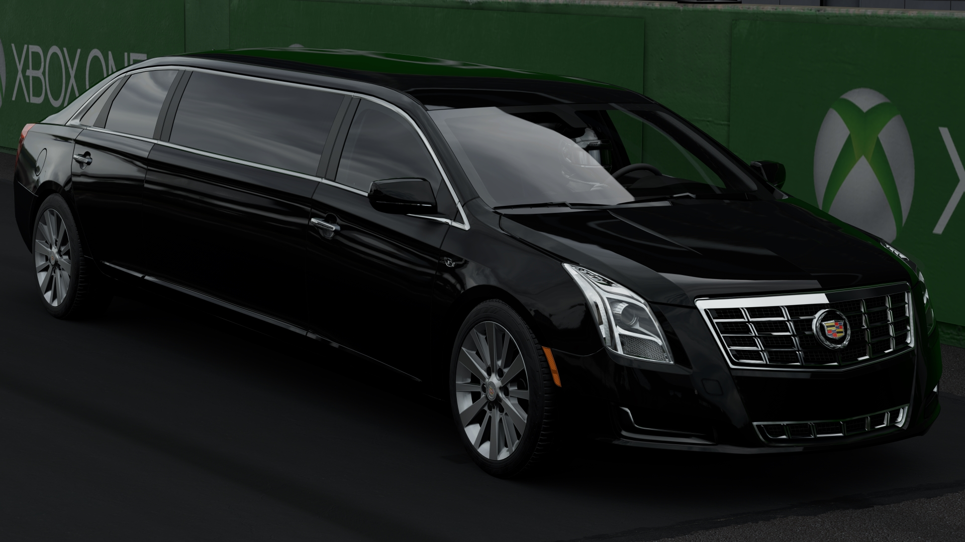 The 2013 cadillac xts limousine in forza motorsport 7