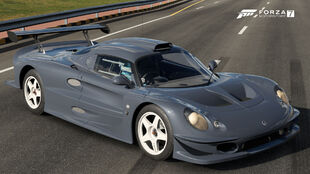 The 1997 Lotus Elise GT1 in Forza Motorsport 7