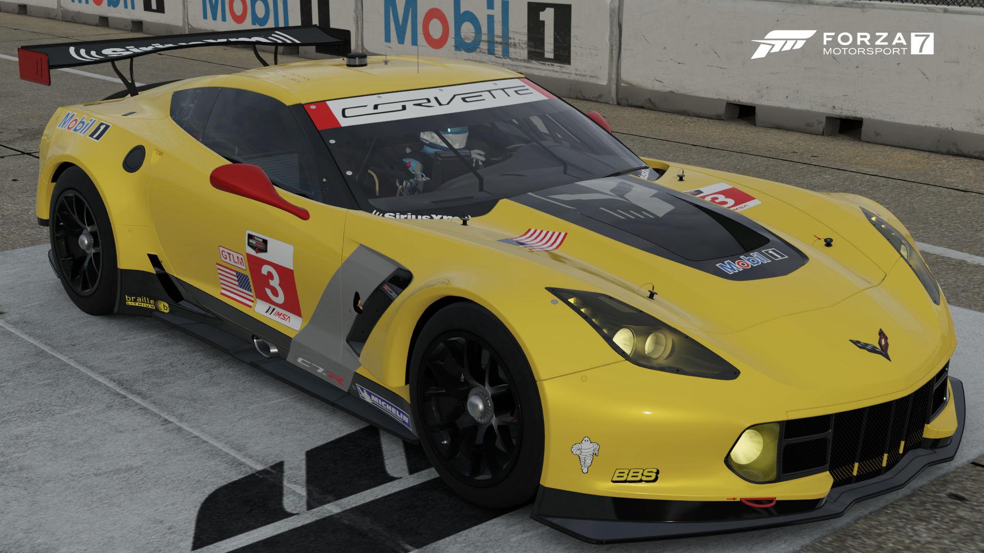 Chevrolet 3 Corvette Racing Corvette C7 R