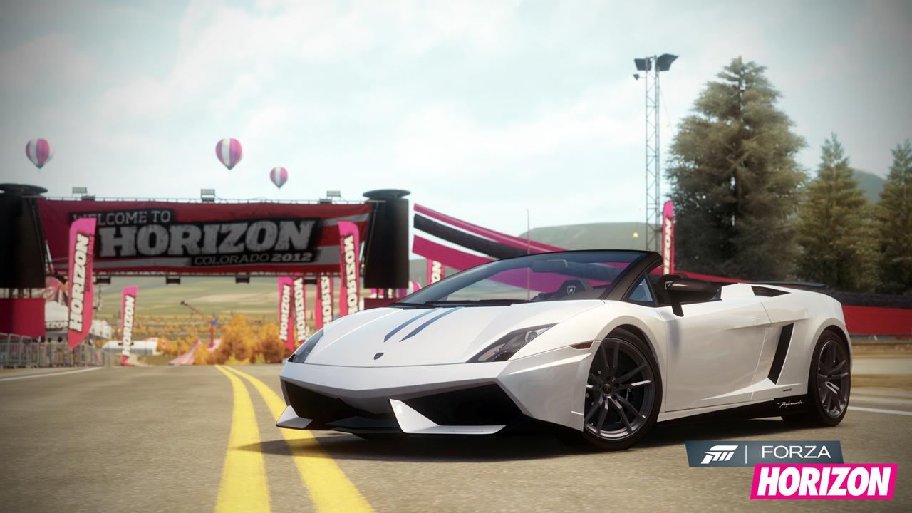 The 2012 Lamborghini Gallardo LP 570 4 Spyder Performante In Forza Horizon