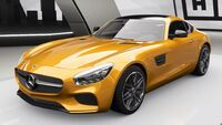 FH4 M-B AMG GT S Front