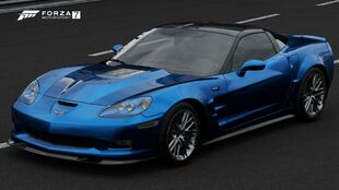 2009 Chevrolet Corvette ZR1 in Forza Motorsport 7