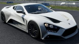 The 2016 Zenvo ST1 in Forza Motorsport 7
