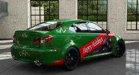 FM5 Lexus ISFHappyHolidays