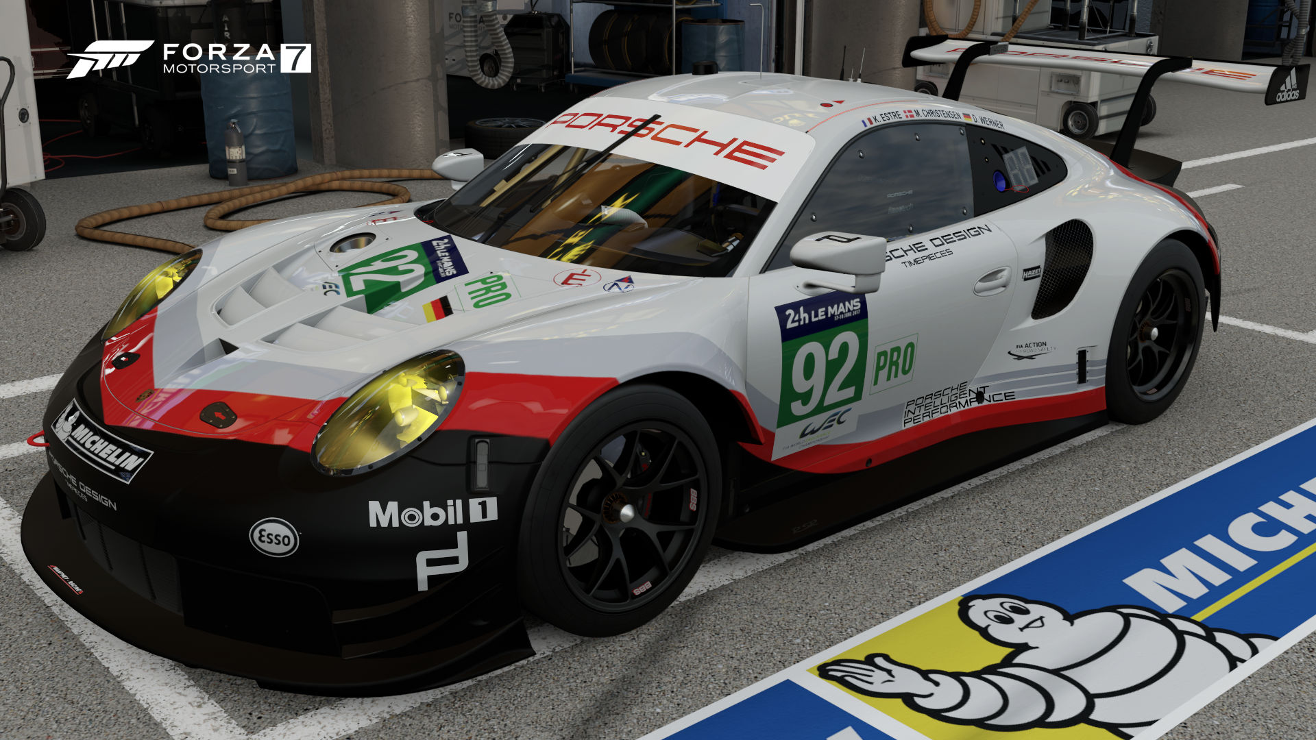 Porsche 92 GT Team 911 RSR