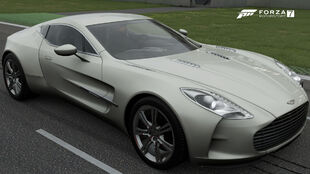 The 2010 Aston Martin One-77 in Forza Motorsport 7