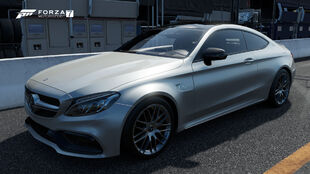 The 2016 Mercedes-AMG C 63 S Coupé in Forza Motorsport 7