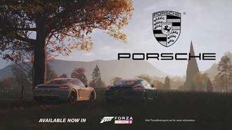 Forza Horizon 4 - Porsche 718 Cayman GTS - Trailer