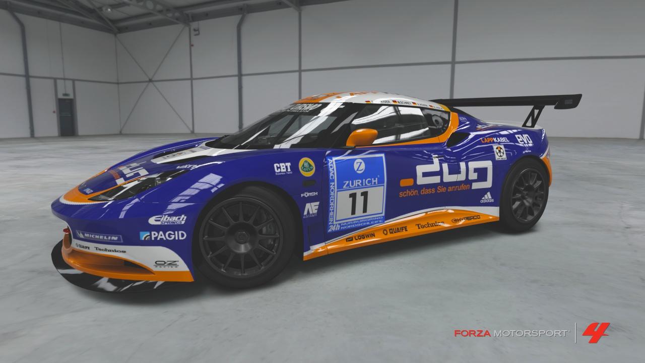 2009 Evora Type 124 Endurance Race Car   Forza Motorsport 4 Wiki ...
