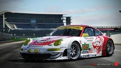 2011 45 Flying Lizard 911 GT3-RSR