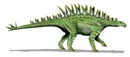 Huayangosaurus BW