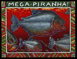 Megapiranha Ray Troll