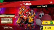 T-Rex Spirit Battle Info