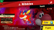Nibbles Spirit Battle Info