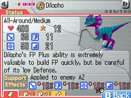 Dilopho Max Stats FF