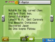 F-Raptor Fossilary FFC