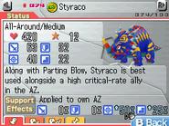 Styraco Max Stats FF
