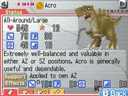 Acro Max Stats FF