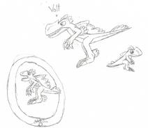 Volt (Monolo) drawing