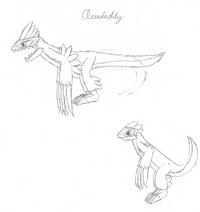 Clawdaddy (Alxas) drawing