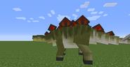 Male Stegosaurus