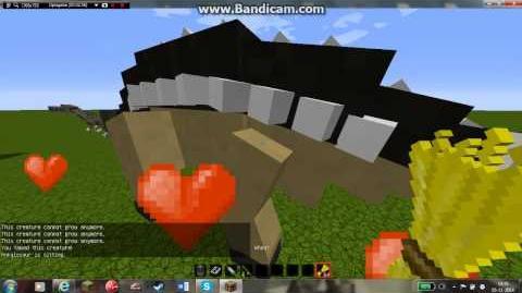 Minecraft Jurassicraft mod updated 1.3.0