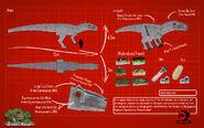 Jurassicraft hybrid indominus rex by jurassicraft-d8wzkyv