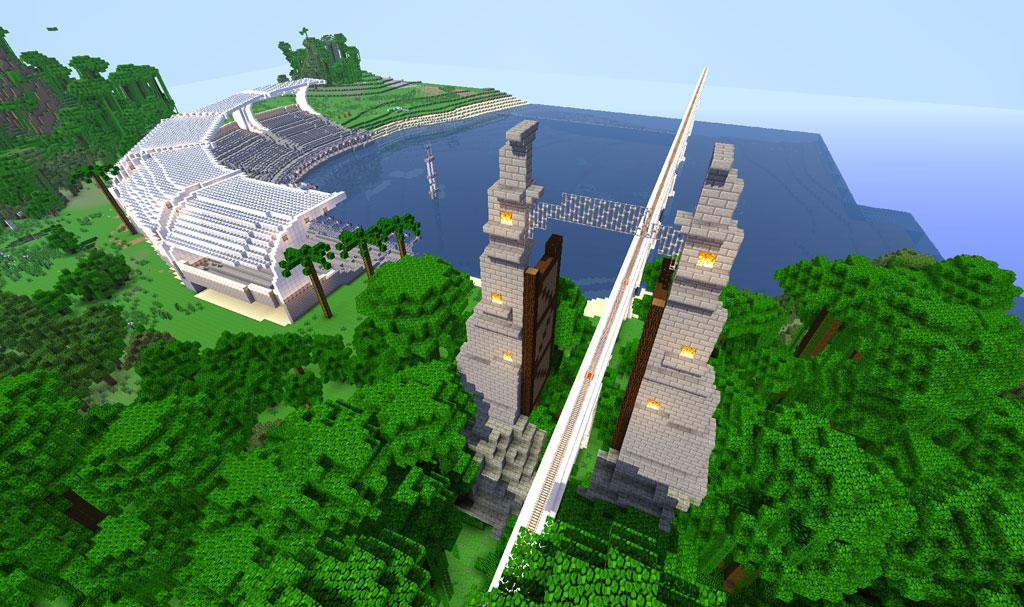 minecraft gate design. Modren Design JurassicWorldGates3Minecraftjpg On Minecraft Gate Design