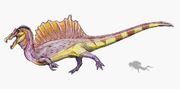 Спинозавр - новая реконструкция