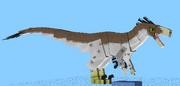 Dakotaraptor female
