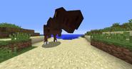 Tyrannosaurus on the beach