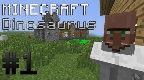 Minecraft Dinosaurs Mod Episode 1
