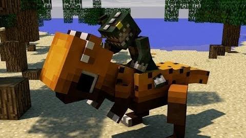 Minecraft DINOSAURS! - Attack of the B-Team - Ep. 2 - Progress!