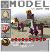 Minecraft oviraptor by dragonith-d5x4541