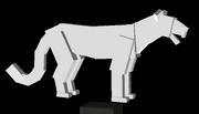Miracinonyx- amrican cheetah