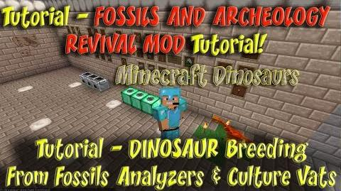 Fossils and Archeology Revival Mod Tutorial Fossils Analyzer Culture Vat Dino Breeding-1